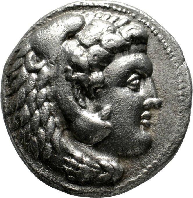 Tetradracma a nombre de Filipo Arrideo, ceca asiática incierta, 323-300 a.C. 16qopc