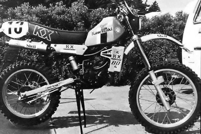 Kawasaki KX 80 Big 1983 - Restauracion 1ghxg9