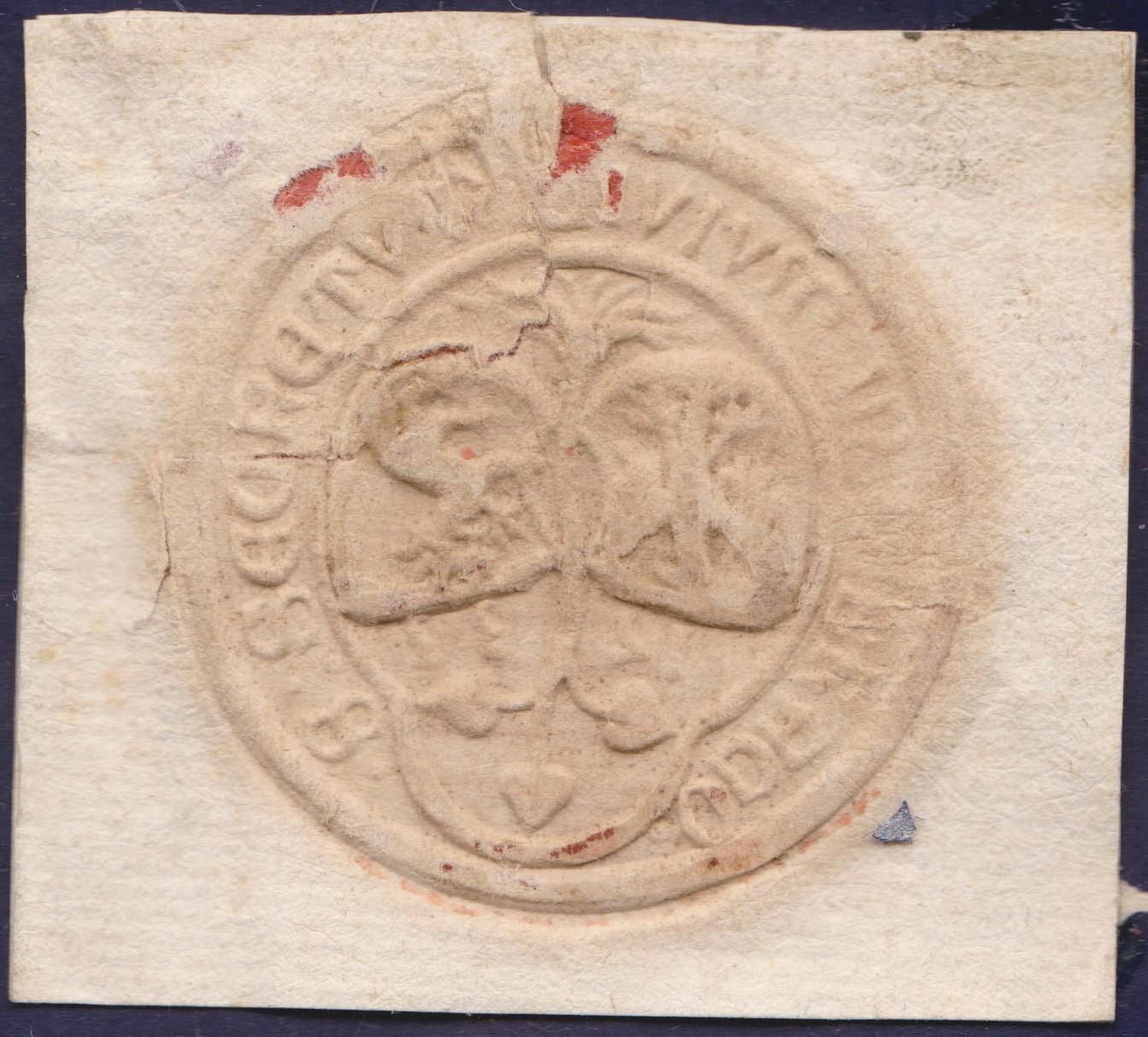 sigillum Girolamo Doria1533 ?? 1zoasdt