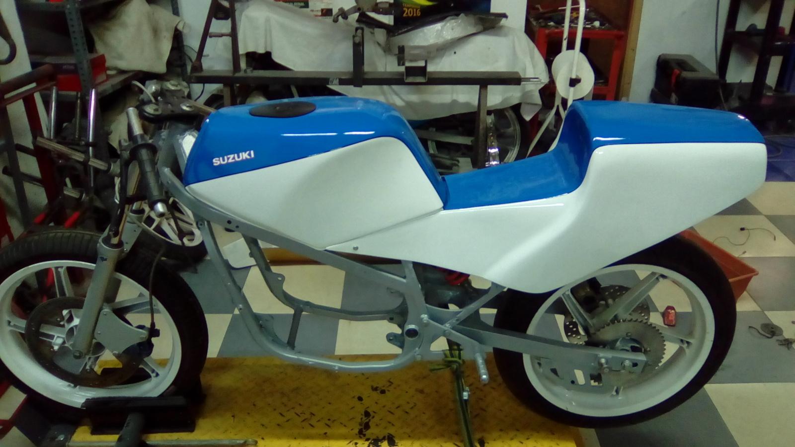 Proyecto Suzuki RG 125 de competición 20a5s12