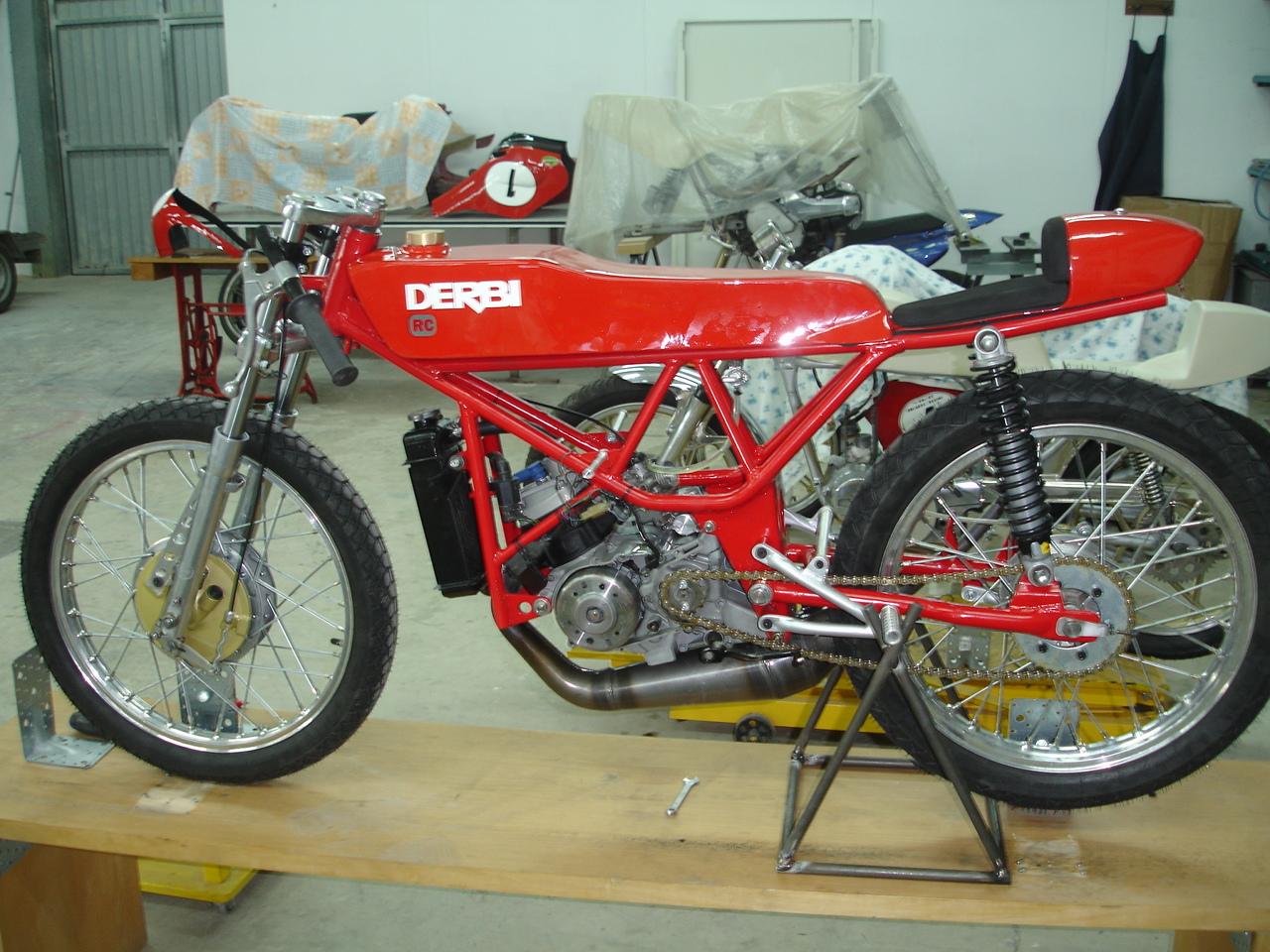 Motor Derbi RAN 20jb5s