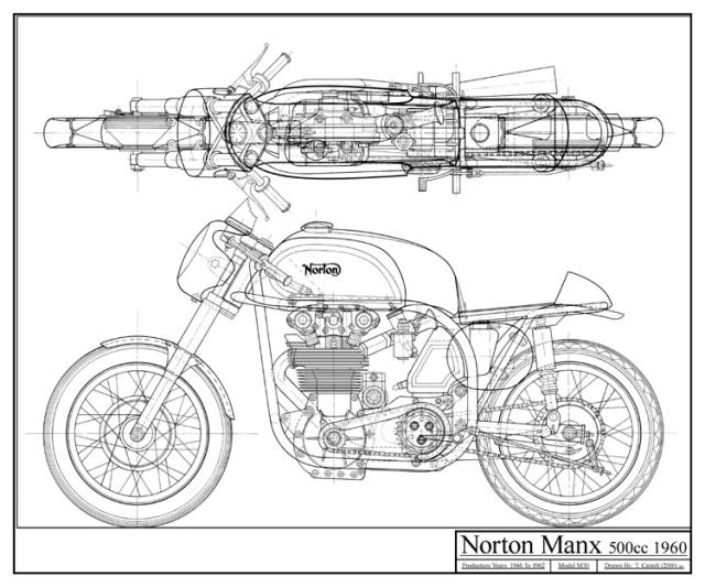 Replica Bultaco TSS 350 - 1967 24pjk40
