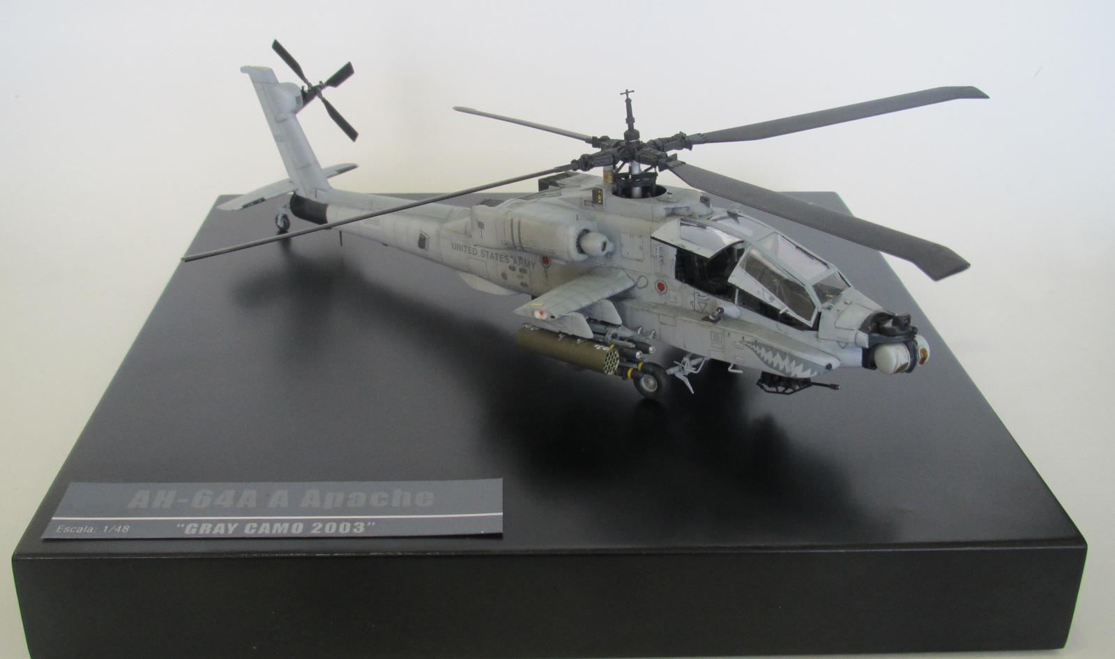"""AH-64A Apache """"Gray Camo 2003"""" 258qng0"""
