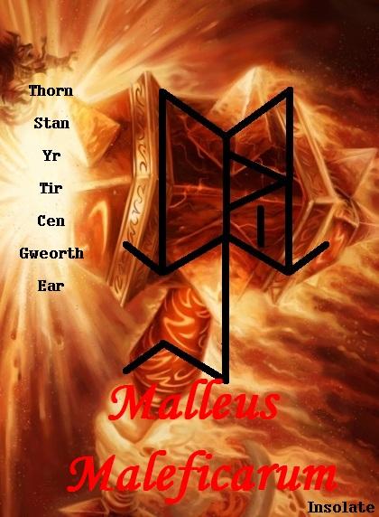 "Обезвредить врага рунами ""Malleus Maleficarum "" Автор: Insolate  25ptmr9"