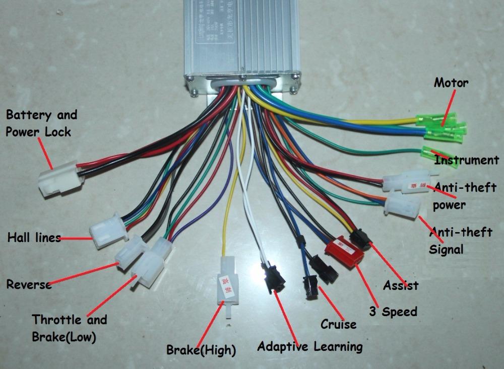 Conectores controlador 2609a1e