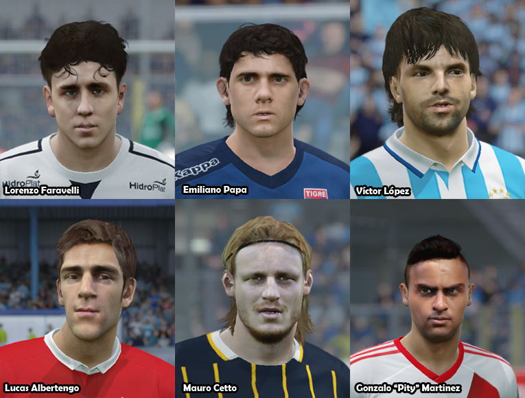 Faces Futbol Argentino PACK 19 289yoeh
