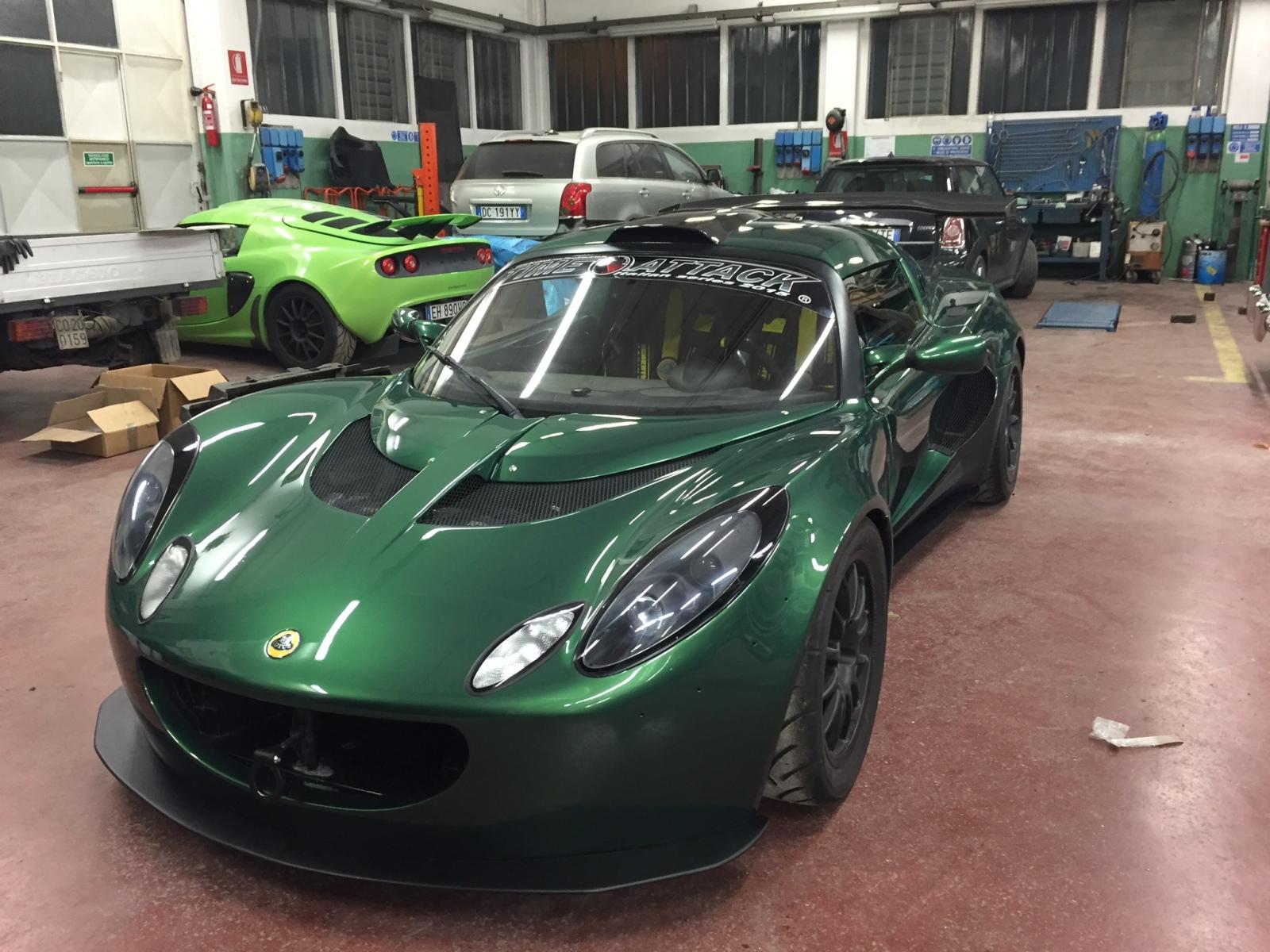 #the Lotus Honda Exige 291njh4