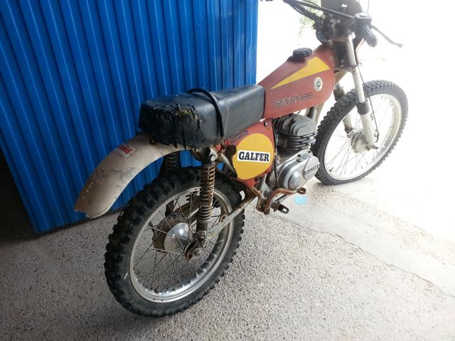 La Bultaco Frontera 74 de mi hija. 296lu7p