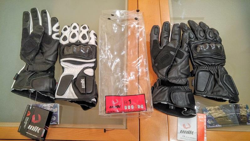 Vendo guantes invierno sport de piel marca Unik 29uszfl