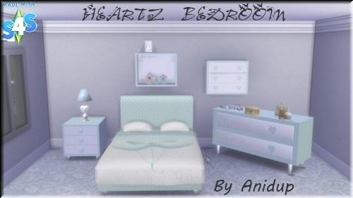 Sims 4 : Heartz Bedroom 2ai52rk