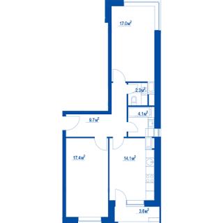 """Планировки квартир в ЖК """"Летний сад"""" - как в целом с этим у Эталона? 2cdyk2s"""