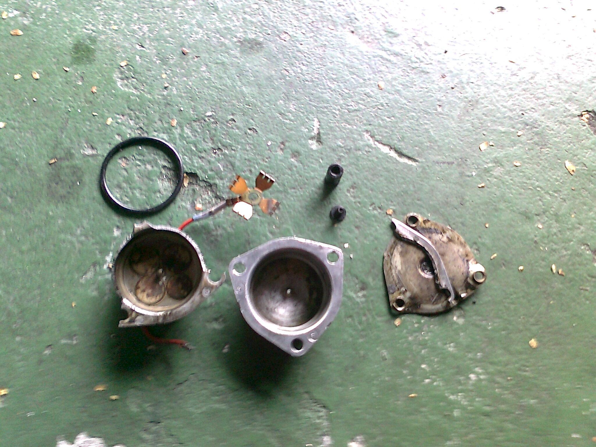 pré aquecedor de combustivel no coletor de admissao monza alcool (ptc) 2cmk60p