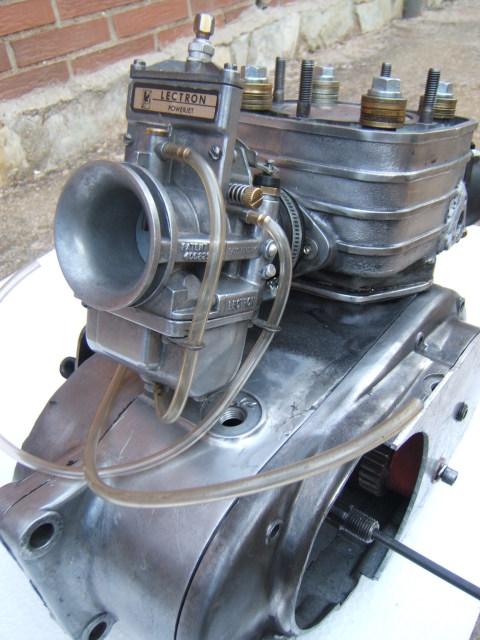 "Bultaco Streaker 350 ""Agua"" 2d9e2cm"
