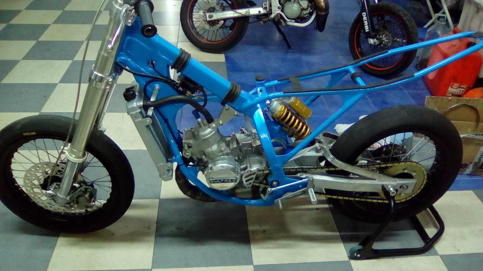 Proyecto Frontera 125 cc. Dirt-Track 2el42gx