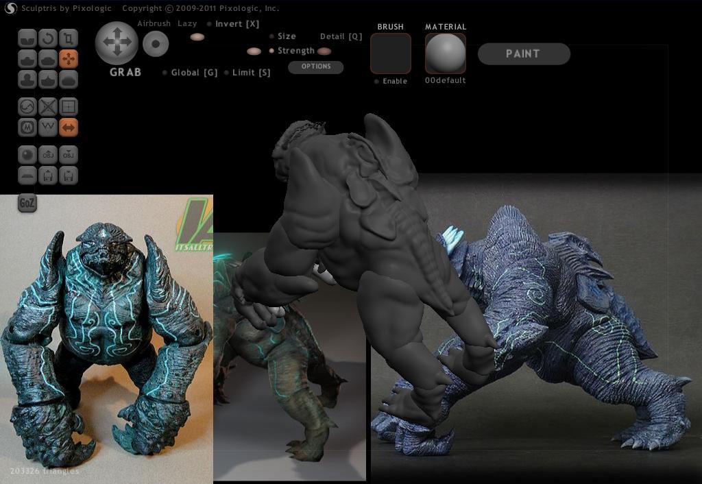 Leatherback 3D Model - Pacific Rim 2hhm0l1