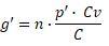 ¿Cuál es la fórmula correcta para calcular la composición orgánica del capital (COK)? 2hs3otg