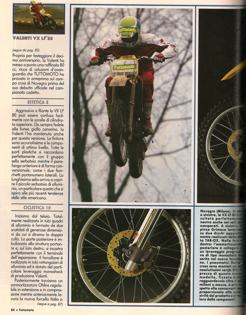 VALENTI MC80 1988 Aluminio 2ik4adz