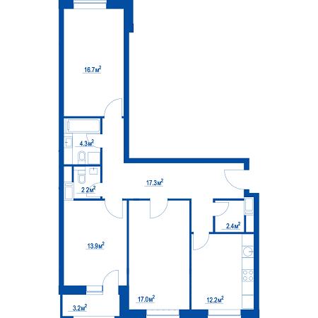 """Планировки квартир в ЖК """"Летний сад"""" - как в целом с этим у Эталона? 2j64oll"""