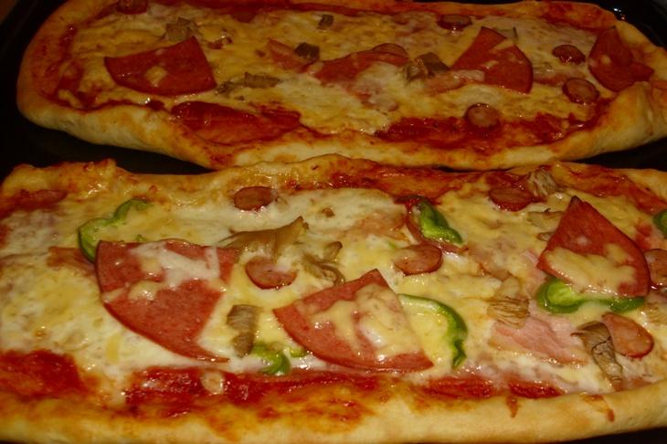 Ζύμη πίτσας με μπύρα & σάλτσα πίτσας 2lder7d