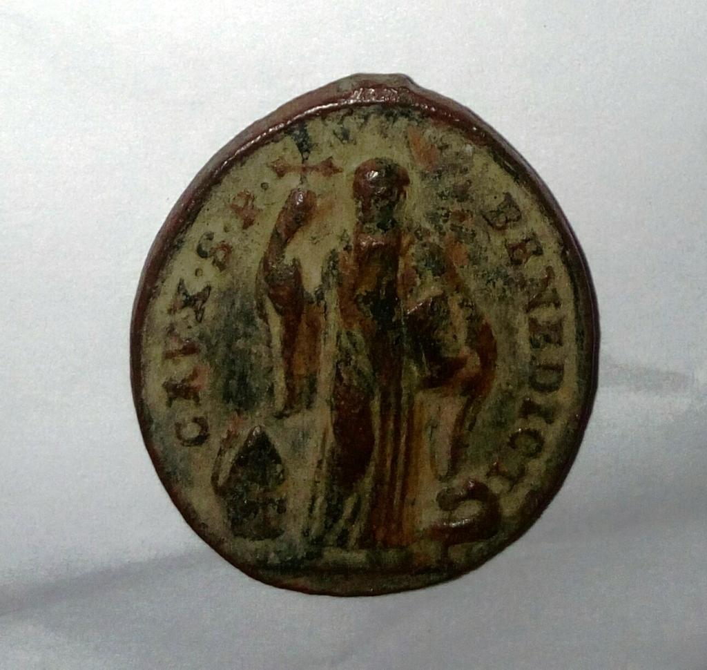 Medalla de S. Benito / Cruz de S. Benito -s. XVIII- 2qntbti