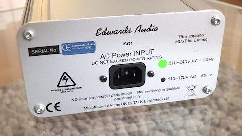 Transformador de aislamiento AC Edwards Audio ISO1: La lámpara de Aladino 2qxnreh
