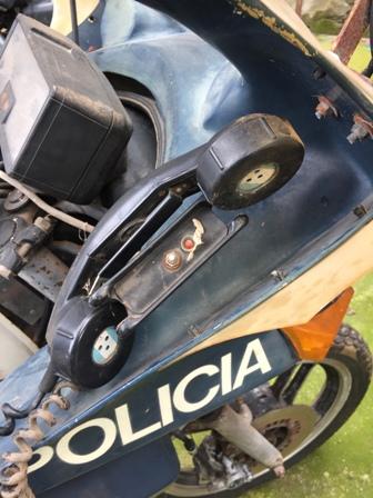 Yamaha XS 400 POLICIA 2r5esgg