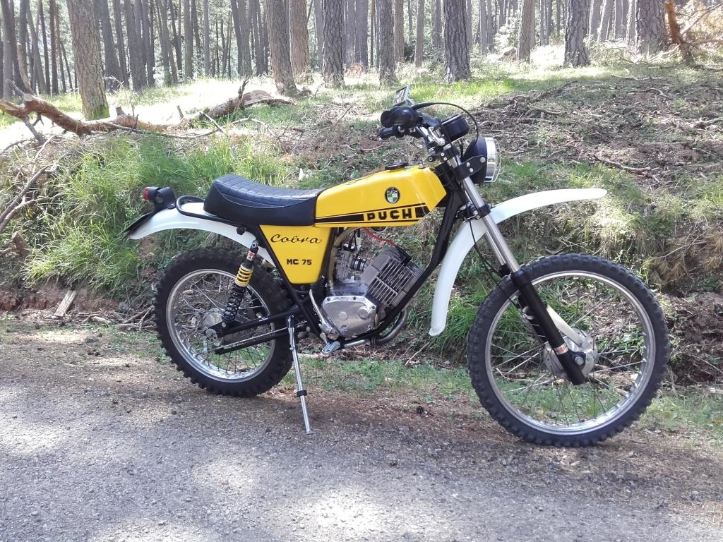 Puch Cobra MC 75 - Cantidad de aceite motor 2s7xir6