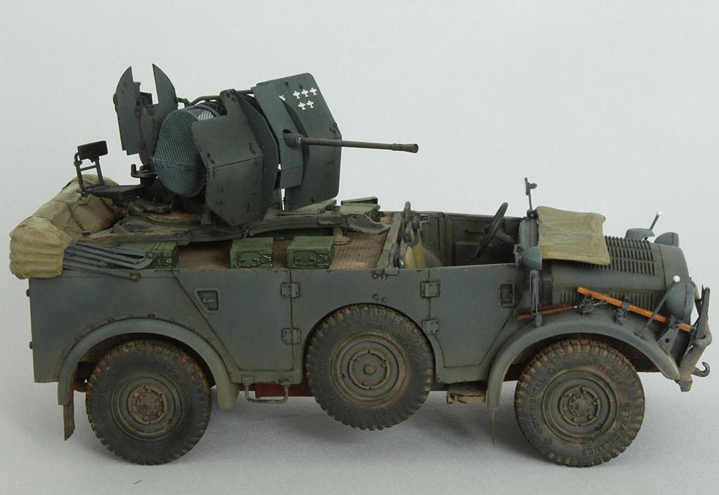Horch Typ 1a w/2cm Flak 38 конверсия Tamiya+Dragon 1/35 2u8v05e