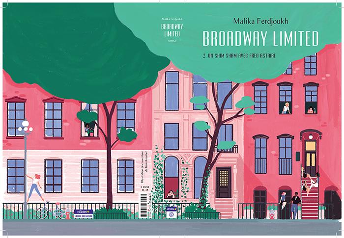 Broadway Limited, Tome 2 : Un shim sham avec Fred Astaire de Malika Ferdjoukh 2uz3u5t