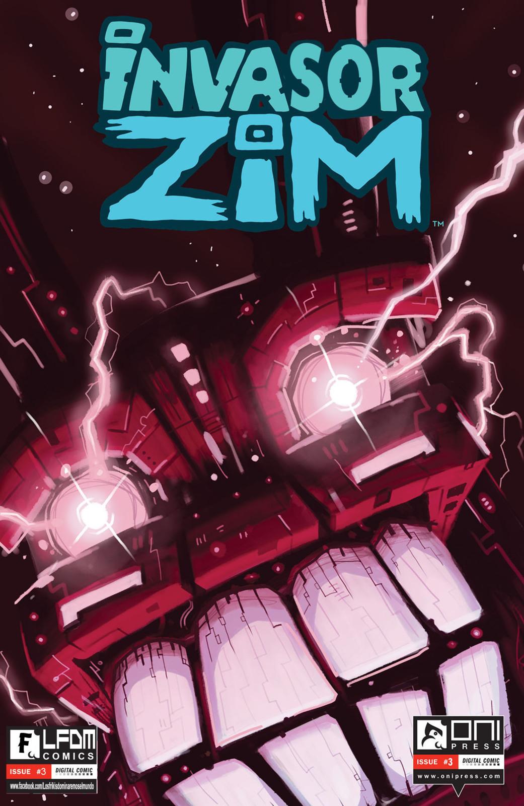 Invasor ZIm comics en español desde el #2 al #4 2v93qxu