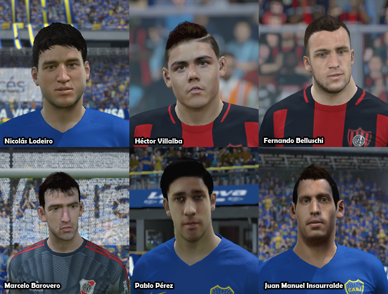 Faces Futbol Argentino PACK 19 2wprscx