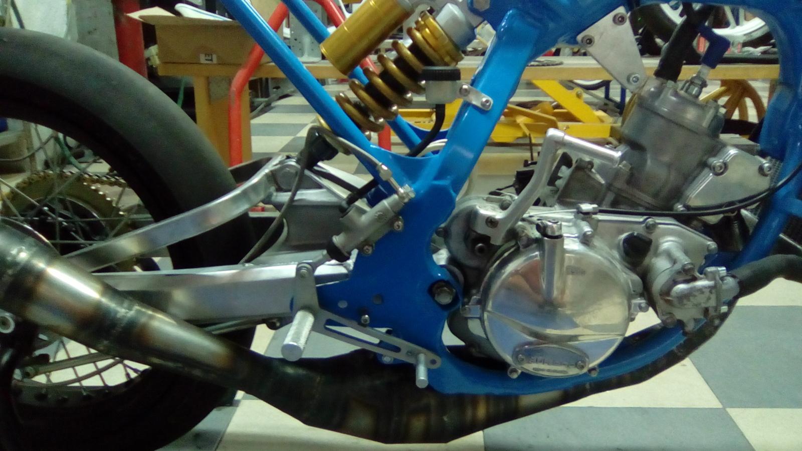 Proyecto Frontera 125 cc. Dirt-Track 2yoekua