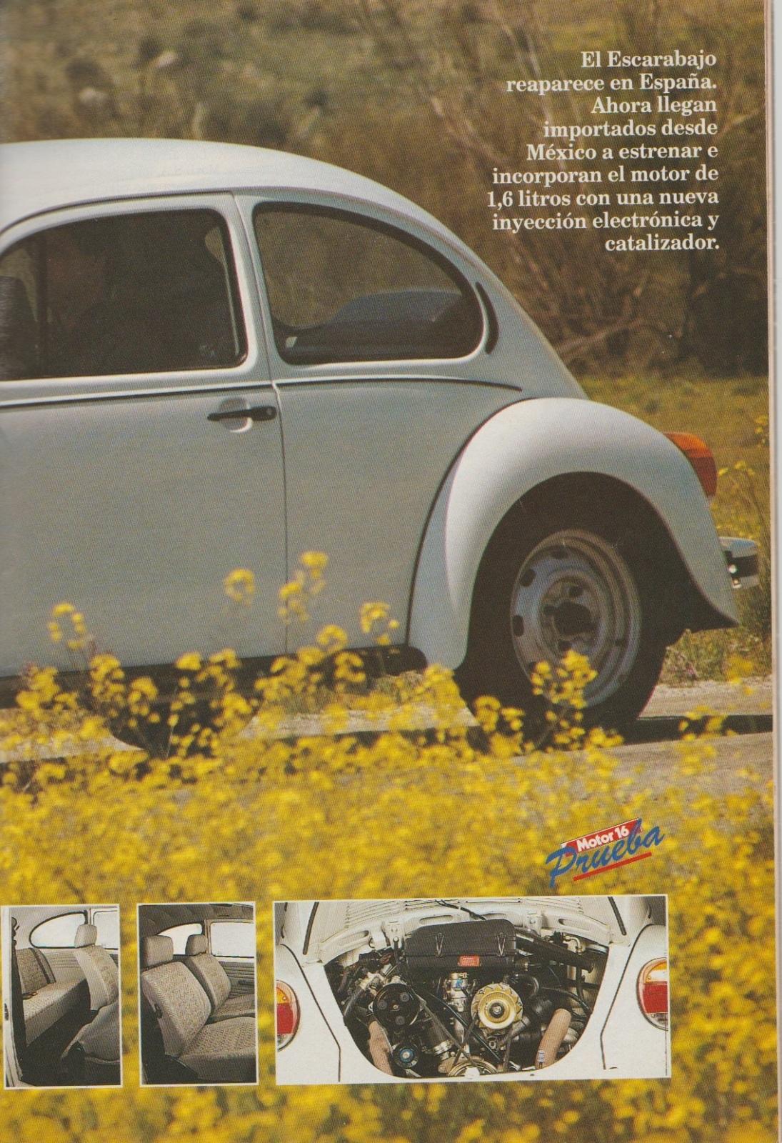 Prueba del Escarabajo 1600i por Motor 16 (1996) 2zywmc2