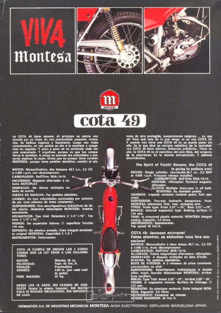 cota - Restaurando Montesa Cota 49 - 1ª Serie (1972) 30x9bq1