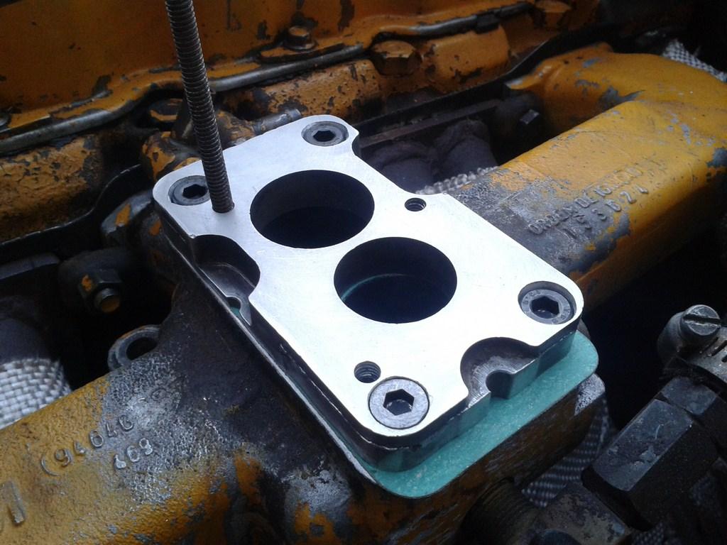 TUTORIAL de Instalação do Carburador 3E no Coletor do H34 com flange! 33uskk8