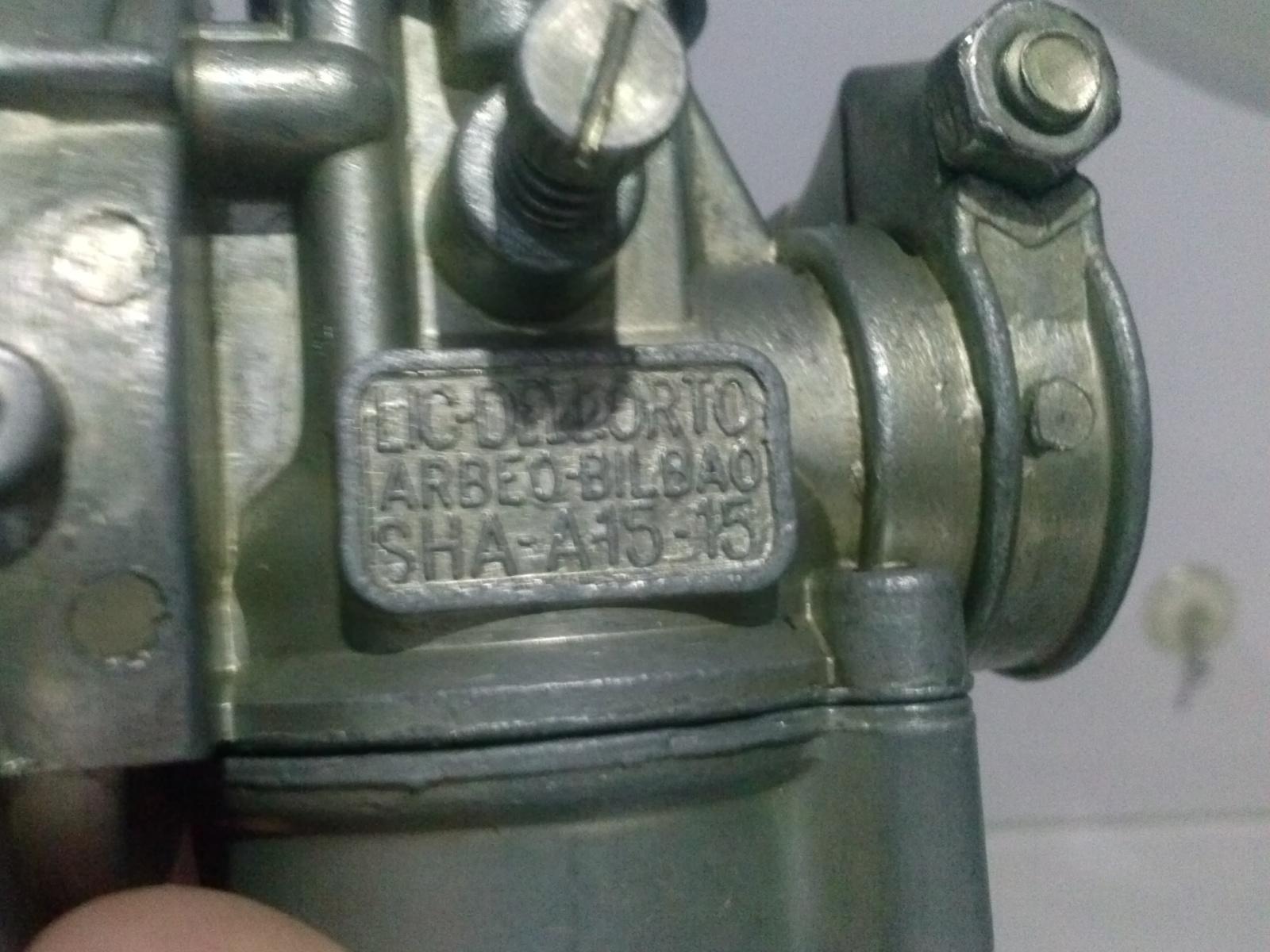 Puch Varias - Carburador Dellorto SHA-A 15-15 33zbvc2