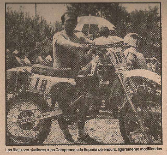 Las Motos de los Juniors 80 cc - 1985 343itkk