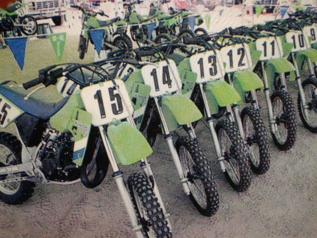 Kawasaki KX 80 1987 > Restauracion 3482jgp