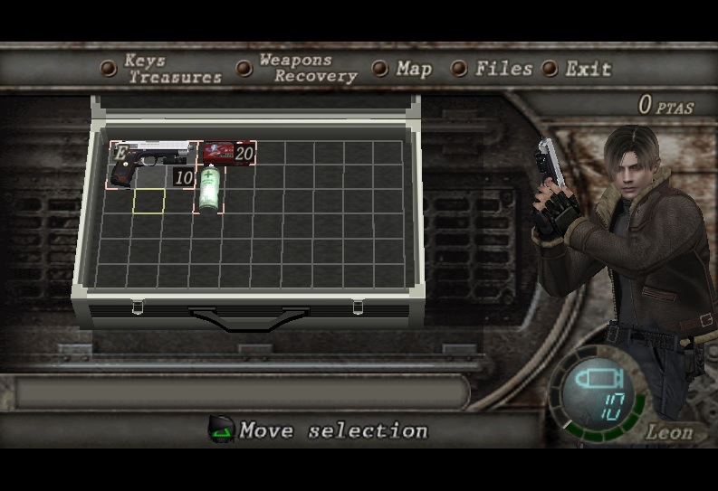 Handgun HD Leon/Wesker 5tswfa