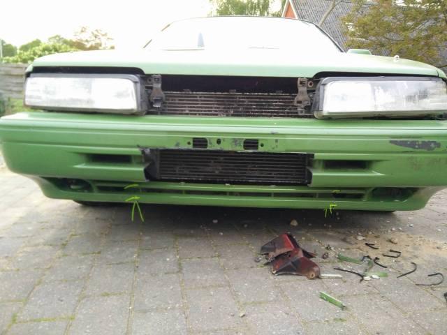 Mazda 626GT Turbo - 29/5 bytte intercooler 5whzjn