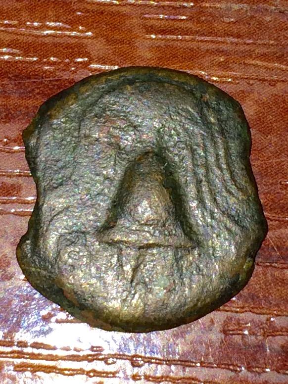 Prutah de Herodes Arquelao, 4 a.C-6 d.C, Jerusalén. 640zyc