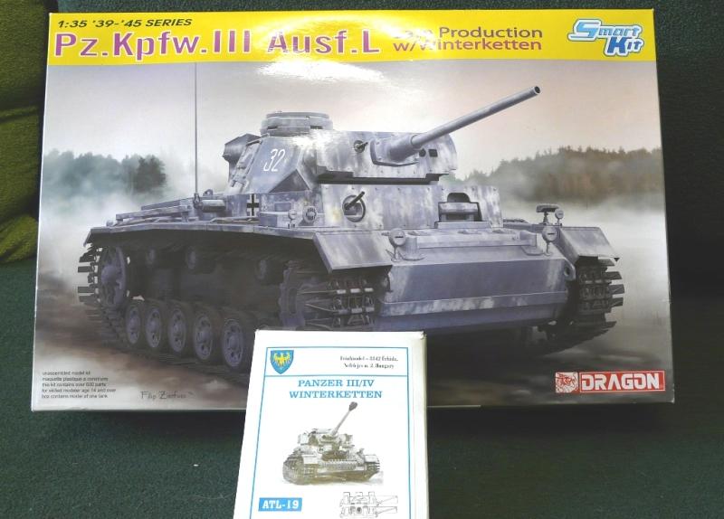 Pz.Kpfw.III Ausf.L зимний вариант., Зимняя тройка.1/35 650t21