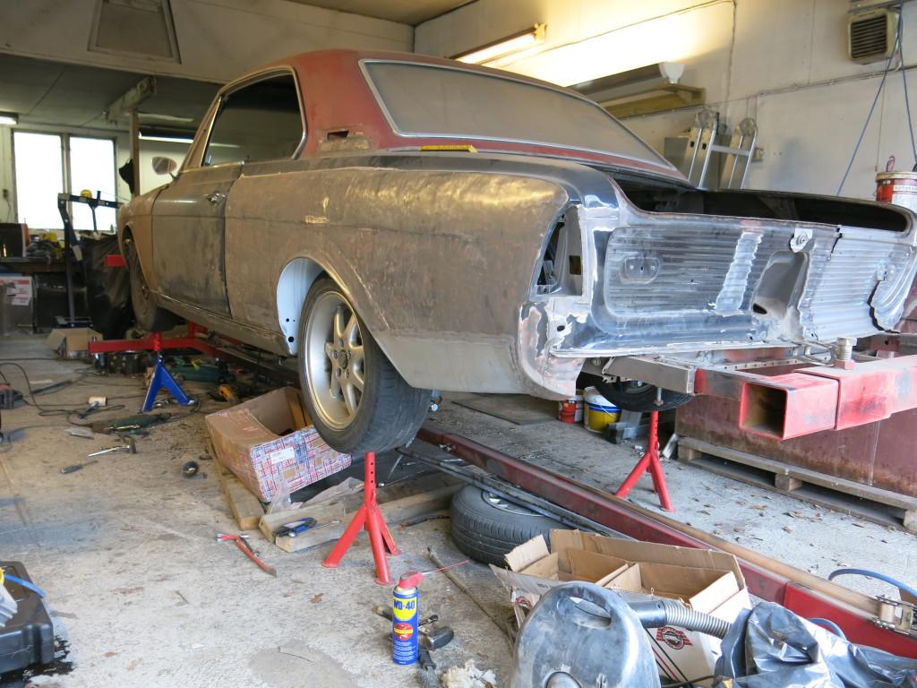 Ombygging av 1966 modell 20m Hardtop 6h2rzt