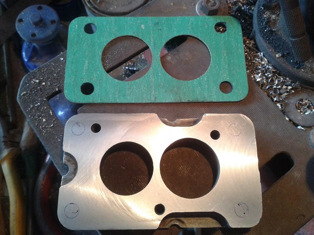 TUTORIAL de Instalação do Carburador 3E no Coletor do H34 com flange! 6xuf69