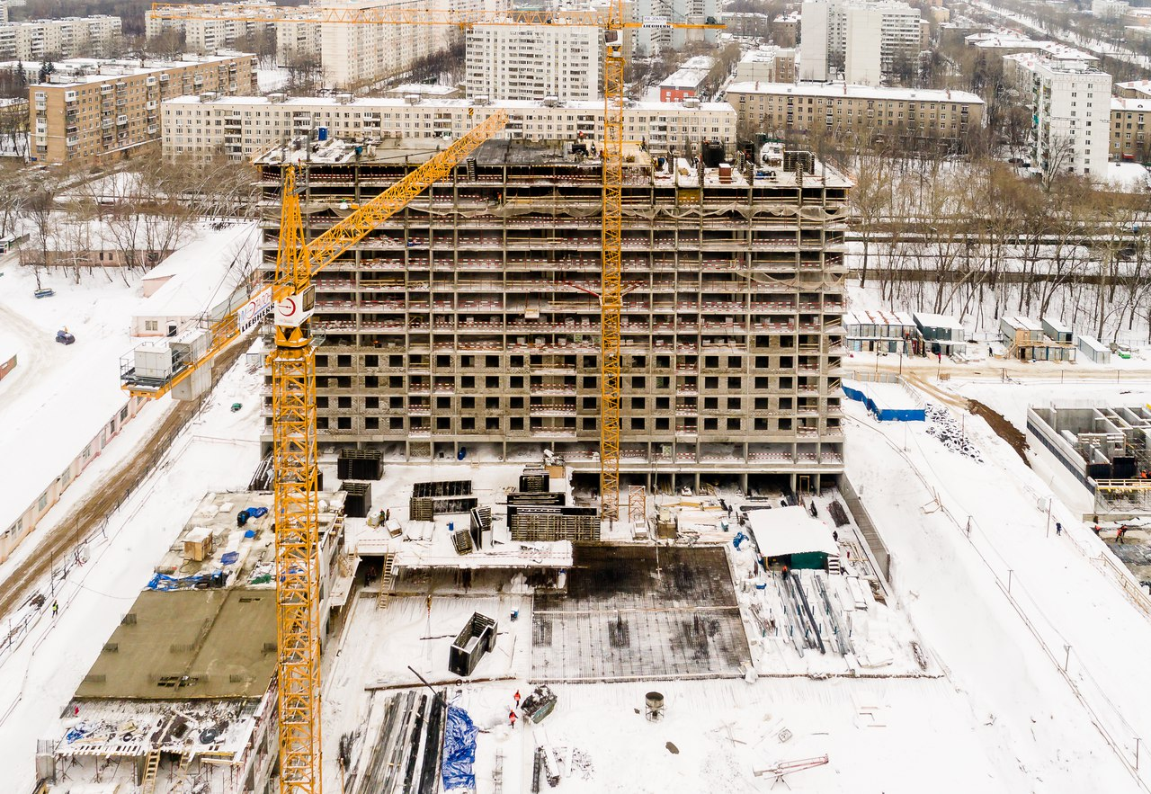 """Третий объект в Москве - ЖК """"Летний сад"""" (САО, 11 корпусов разной высотности, включая апартаменты) 6zx02a"""