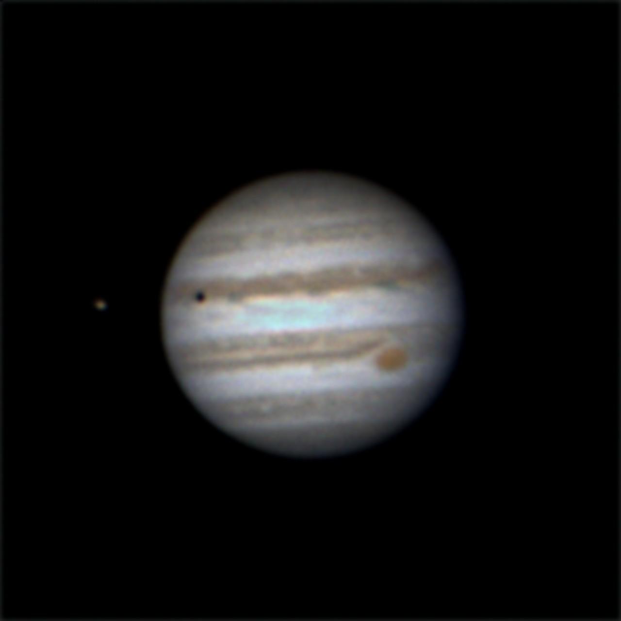 Trânsito das Luas de Júpiter. 95vbwx