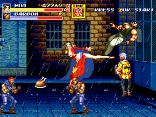 Streets Of Rage 2 - One piece- 99nmue