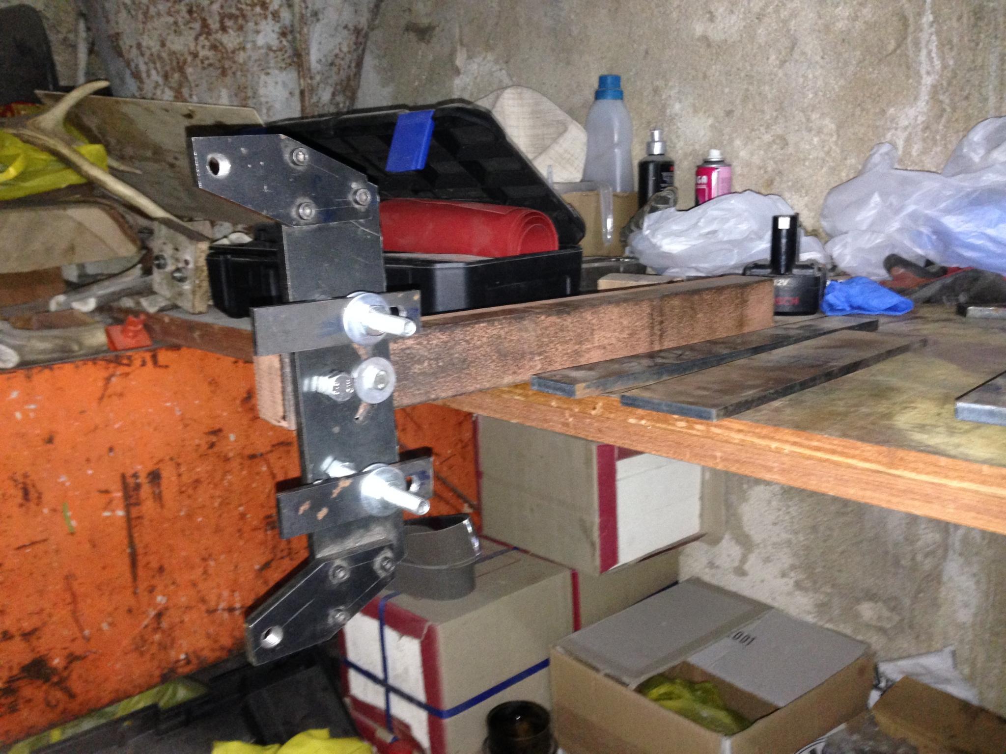 Belt grinder Replika KMG 9jet06