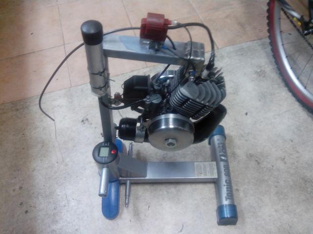 SOPORTE PARA ARRANCAR MOTOR Mobylette Abs1h1