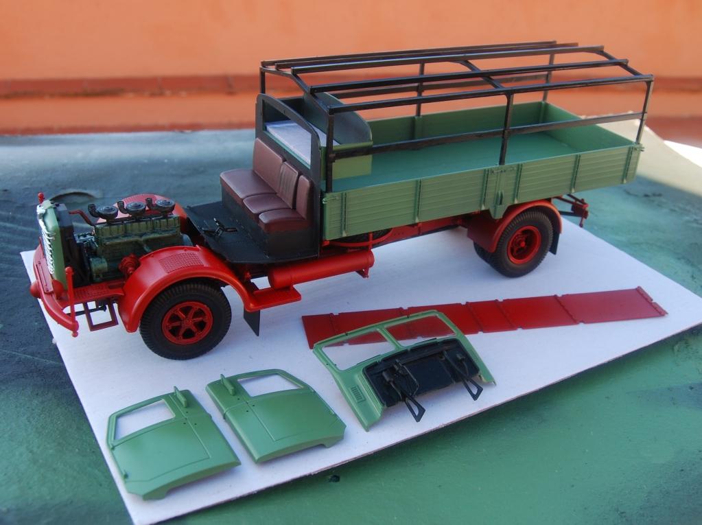 Camió Büssing 8000 S13 de Revell Aepds2
